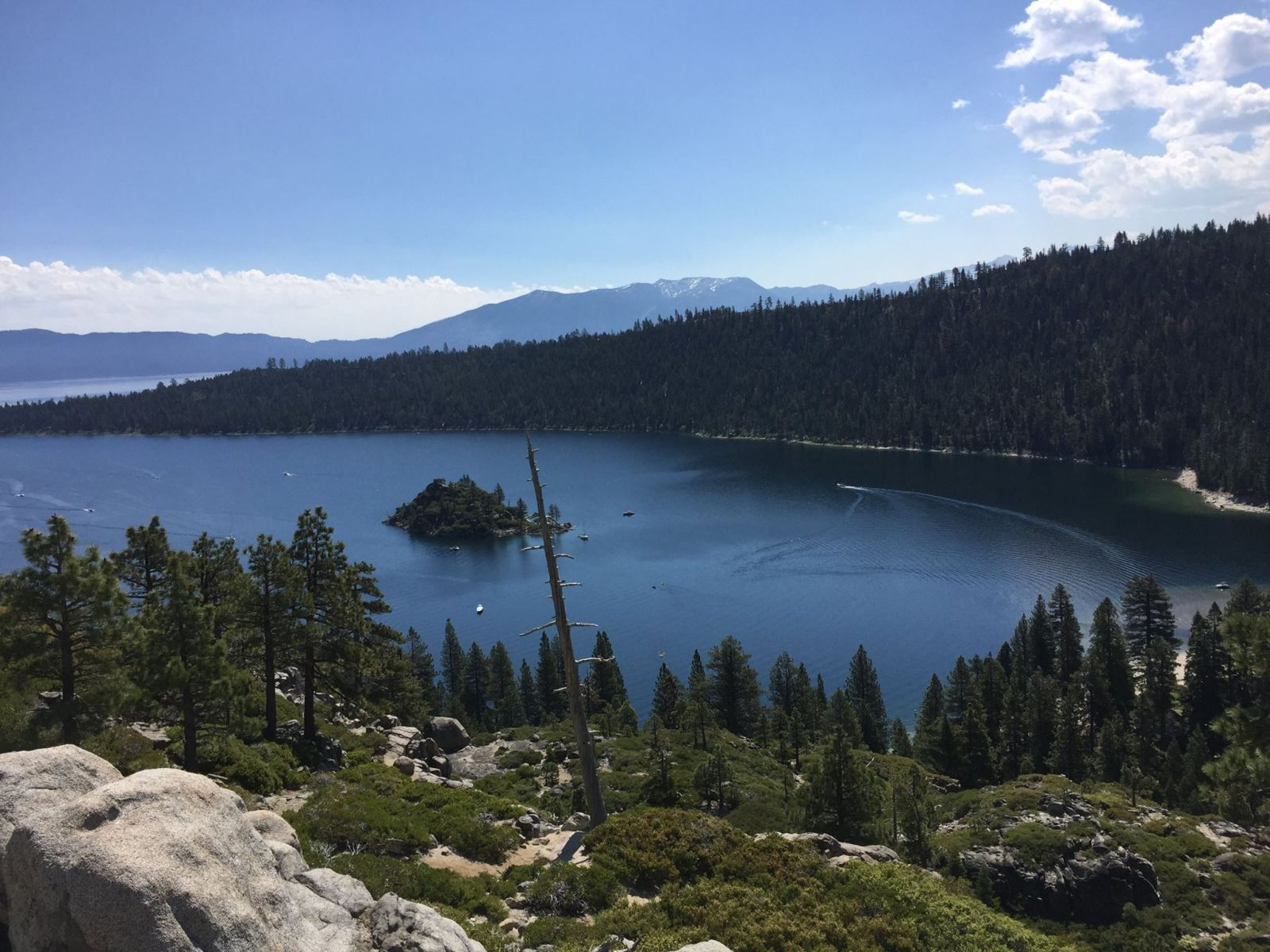Emerald Bay State Park in Lake Tahoe