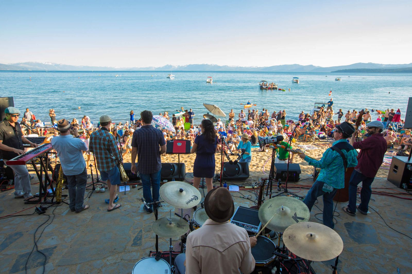 Tahoe Music on the Beach for Labor Day