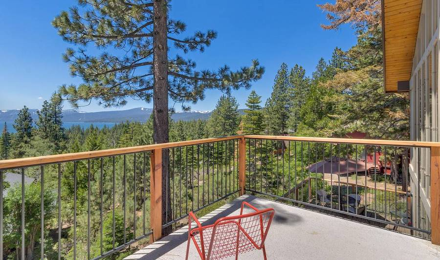 Tahoe vacation rental with lake view