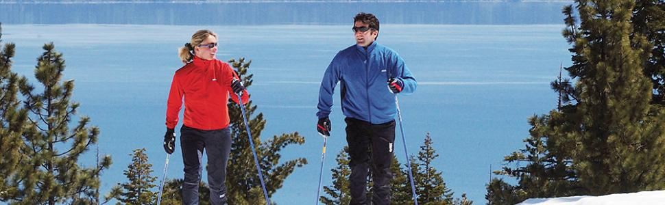 Popular cross country skiing trails in Lake Tahoe