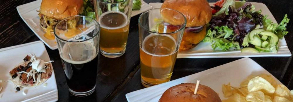 Burgers and Beers at Mellow Fellow