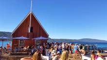 Chambers Landing, one of the best patios in Tahoe