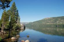 Donner Lake in the summer